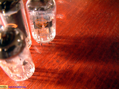 An Image of Vacuum Tube(Reverse)